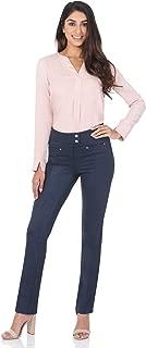 Women's Secret Figure Pull-On Knit Straight Pant w/Tummy...