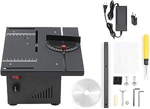 KKmoon Sierra de Mesa Multifuncional, Mini Cortador de Sierra Eléctrico 200 W Profundidad de Corte de 40 mm para Corte de Madera, Plástico, Acrílico