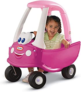 Little Tikes Princess Cozy Coupe Ride-On Toy - Toddler Car Push and Buggy Includes Working Doors, Steering Wheel, Horn, Ga...