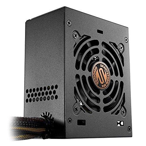 Sharkoon SilentStorm SFX brons PC-voeding 450 Watt, SFX zwart
