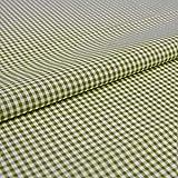 Hans-Textil-Shop Stoff Meterware Vichy Karo 2x2 mm