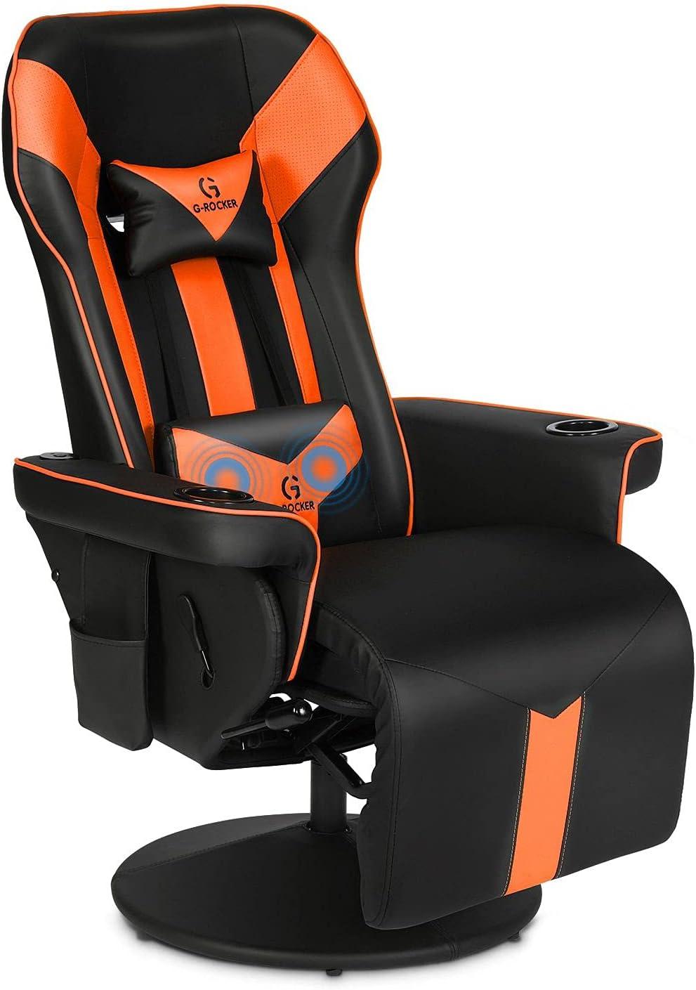 G-ROCKER King Throne Surprise price Video Gaming Ergonomic Chair Recliner High Same day shipping