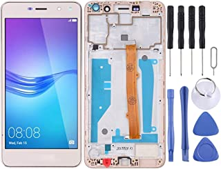 MUJUN Cellphone Accessories LCD Screen and Digitizer Full Assembly with Frame, Repair Part Replacement for Huawei Y5 (2017...