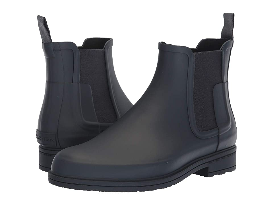 Hunter Original Refined Dark Sole Chelsea Boots (Navy) Men
