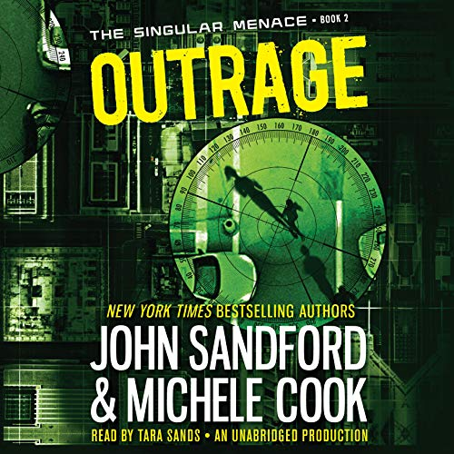 Outrage audiobook cover art