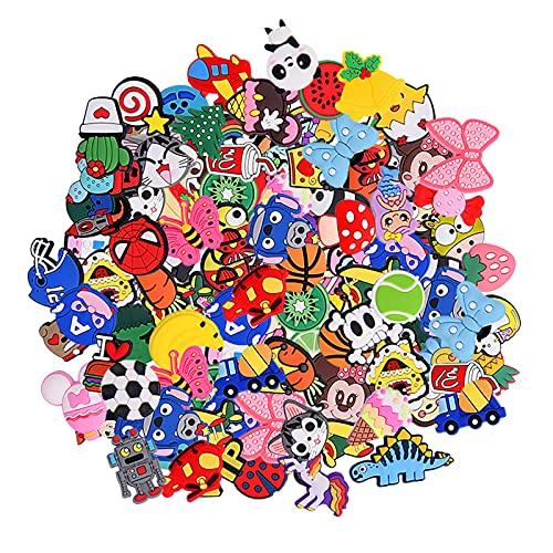 30,50,100pcs Random Different Cute Cartoon Shoe Charms for Shoe Decoration...