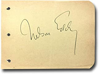 nelson eddy autograph