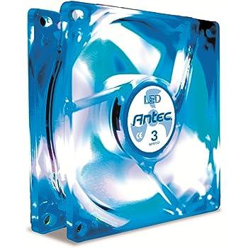 Mechatronix lpf80a50 LED-disipador térmico Ø 80 x 50 mm pin fin Heatsink negro 856570