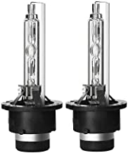 2006-2015 Lexus IS250 HID Xenon D4S Low Beam Headlight OEM Factory Replacement Bulbs (Pack of 2) (6000K Pure White)