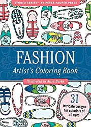 Fashion Portable Adult Coloring Book