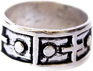 Fashion Rings for Women 925 Sterling Silver Rings Handmade Band Commitment Band Unisex Silver Ring