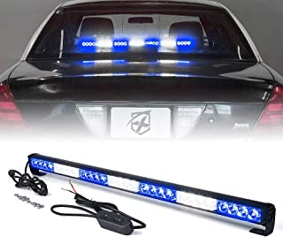 "Xprite 31.5"" Inch 28 LED Strobe Emergency Traffic Advisor Warning Light Bar w/ 13.."