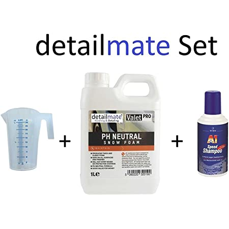 Set Valetpro Ph Neutral Snow Foam 1 Liter 250ml Messbecher Detailmate A1 Speed Shampoo Dr Wack 500 Ml Autoshampoo Für Autowäsche Auto