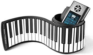 CHENXIU Instruments Bluetooth Piano Travel MIDI Keyboards 61 Key Hand Roll Piano Foldable Home Smart Pianos Piano
