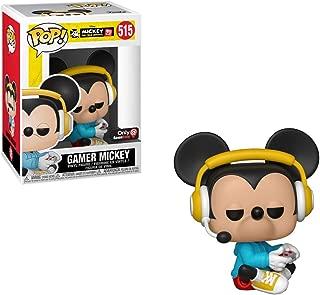 Funko Gamer Mickey (GameStop Exclusive) POP! Vinyl Figure & 1 POP! Compatible PET Plastic Graphical Protector Bundle [#515 / 37522 - B]
