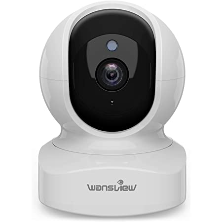 Home Security Camera, Baby Camera,1080P HD Wansview Wireless WiFi Camera for Pet/Nanny, Motion Alerts, 2 Way Audio, Night Vision, Compatible with Alexa Echo Show, with TF Card Slot and Cloud