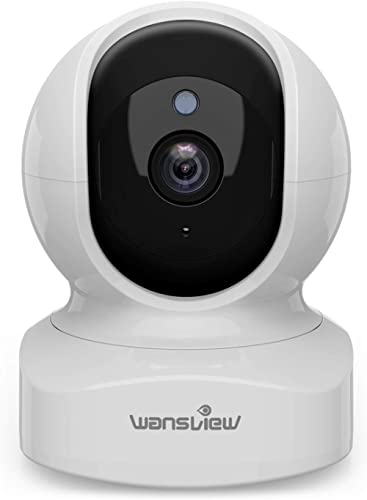 Home Security Camera, Baby Camera,1080P HD wansview Wireless WiFi Camera for Pet/Nanny, Motion Alerts, 2 Way Audio, N...