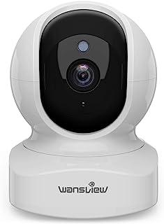 Wansview ネットワークカメラ 1080P 200万画素 ベイビーモニター WiFi IPカメラ ワイヤレス屋内防犯カメラ ペットカメラ ベビー/老人/ペット見守り 動体検知 双方向音声 暗視撮影 録画可能