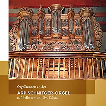 Orgelkonzert an der Arp Schnitger-Orgel auf Pellworm (Eva Schad spielt Orgelmusik von Frescobaldi, Scheidt, Tunder, Buxtehude, Raison, Bach, Kittel und Rinck)