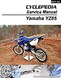 CPP-185-P Yamaha YZ85 Printed Motorcycle Service Manual Cyclepedia