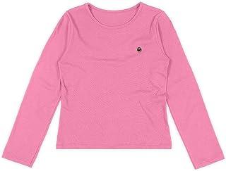 Blusa em meia malha com acabamento antiviral, Marisol, Meninas