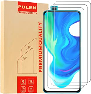 [3-Pack] PULEN for Xiaomi Poco F2 Pro/Xiaomi Mi 10T Screen Protector,HD Anti-fingerprints Anti-Scratch 9H Hardness Tempere...