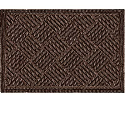 Mibao Entrance Door Mat, 36 x 60 inch Winter Durable Large Heavy Duty Front Outdoor Rug