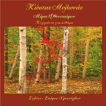 Autumn Days - Music for guitar - solist Spyros Christoglou