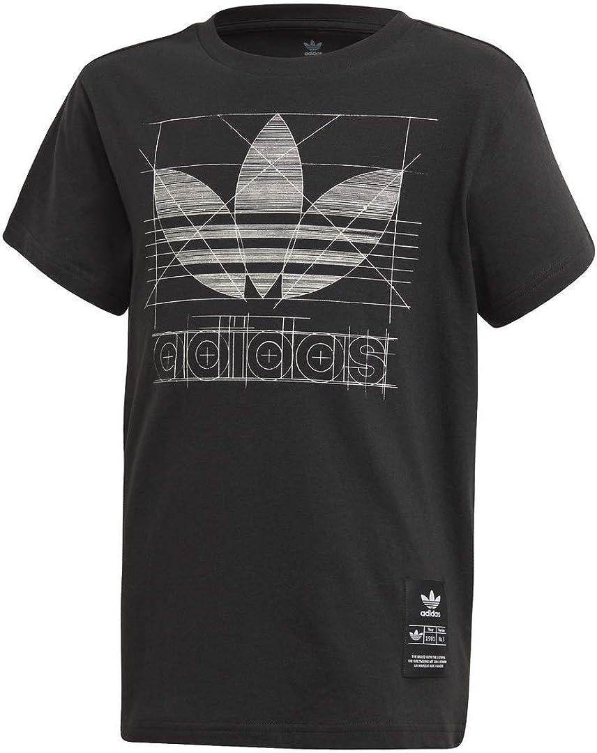 adidas Originals Men's Big Trefoil Shorts T-Shirt Set