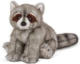 Bearington Rocko Plush Stuffed Animal Raccoon, 13 inches