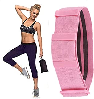GYMSER Exercise Booty Bands|Non Slip Resistance Bands for Legs and Butt Fabric Workout Band Women Sports Fitness Band for ...