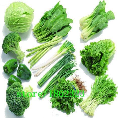mixtes 50 graines / sac balcon semences de légumes paquets saisons de semis d'expédition cour envoyé engrais de jardin