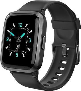AIKELA Smartwatch,Relojes Inteligentes Mujer Hombre,Deporte Reloj de Fitness con Impermeable IP68,Actividad Monitores de D...