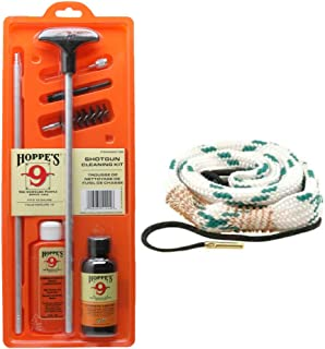 Westlake Market, Hoppes Shotgun Cleaning Kit Plus Bore Snake for Cleaning Your 12 Gauge - Sold in America, Ships from America