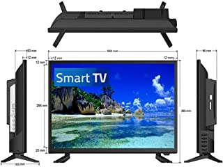 "24"" Full HD LED Television/Smart Wi-Fi TV + HD Tuner 12V/24V/240V"