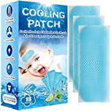 Baby Cool Pads for Kids Fever Discomfort & Pain Relief, Cooling Relief Fever Reducer, Soothe...