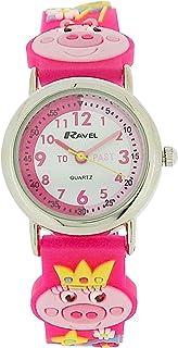 """Ravel Time Teacher 3D""""Little Miss Piggy"""" Watch + Telling Time Award R1513.63"""