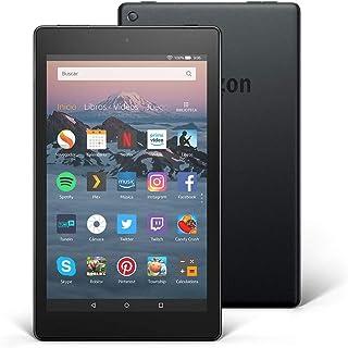 comprar comparacion Tablet Fire HD 8 Reacondicionado Certificado | Pantalla HD de 8 pulgadas, 32 GB, negro, incluye ofertas especiales (8ª gen...