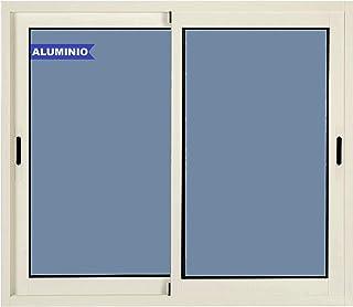 comprar comparacion Ventana de Aluminio Corredera 1000 ancho x 600 alto 2 hojas Climalit