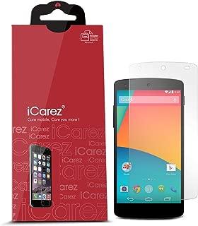 iCarez HD Anti Glare Screen Protector for LG Google Nexus 5 - Retail Packaging - Matte, 3 Pack