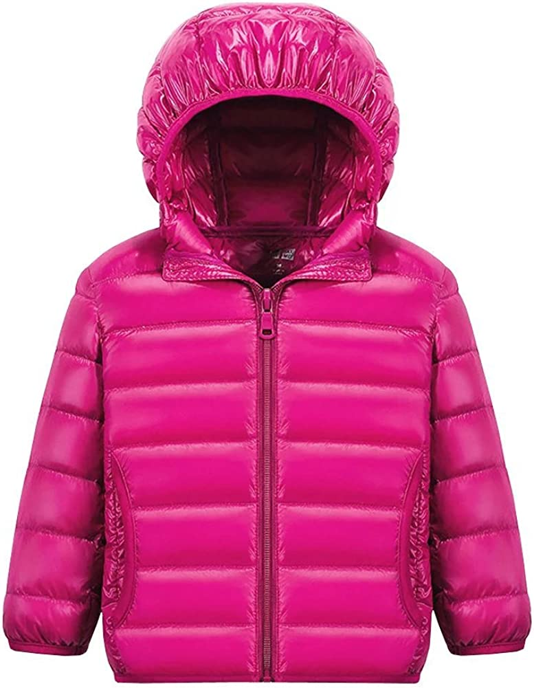 Wxian Unisex Children Lightweight Down Puffer Coat Jacket Warm Max 52% Challenge the lowest price of Japan OFF w