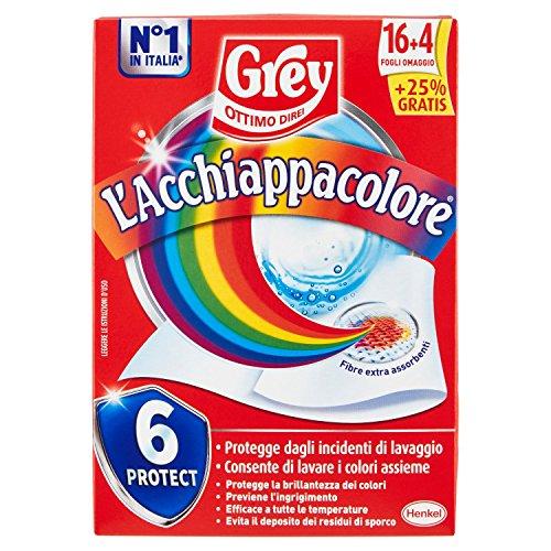 Grey Acchiappacolore - 20 Fogli