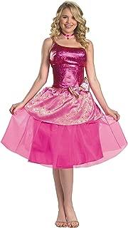 Women's Deluxe Barbie's Princess Charm School Costume by Costume Craze