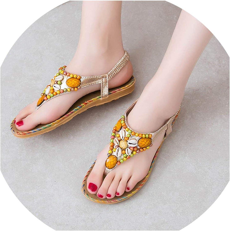 Women Sandals Summer shoes Wedges shoes Open Toe Beach Sandals Flip Flop shoes Retro