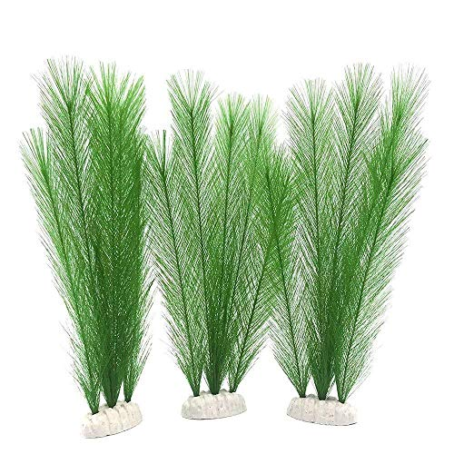 Lot de 3 plantes aquatiques artificielles 30 cm