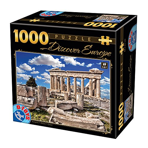 Unbekannt Puzzle 1000 Teile - Discover Europe - Akropolis
