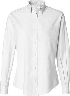 Ladies Wrinkle Resistant Oxford Shirt