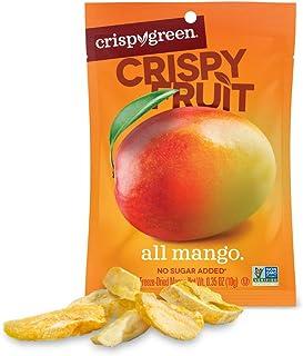 Crispy Green Freeze-Dried Fruit, Single-Serve, Mango, 0.35 Ounce (Pack of 12)