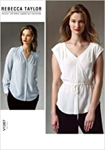 Vogue Patterns V1387E50 Misses' Top Sewing Template, Size E5 (14-16-18-20-22)