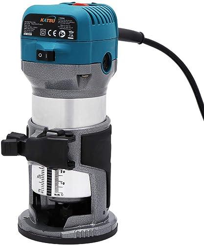KATSU Rifilatore Fresatrice Verticale per Legno Elettrica 220V 710W